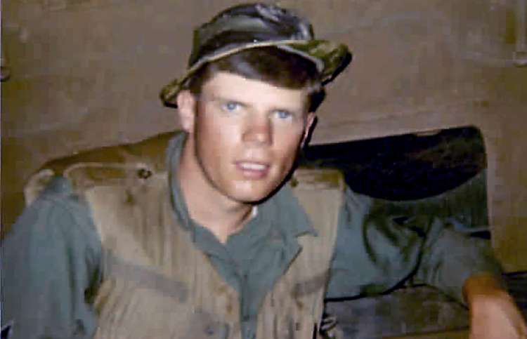 Edward Laurson during his time in Vietnam