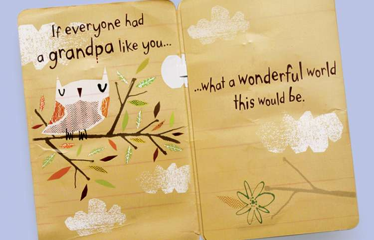 """A Father's Day card that speaks of a """"wonderful world"""""""