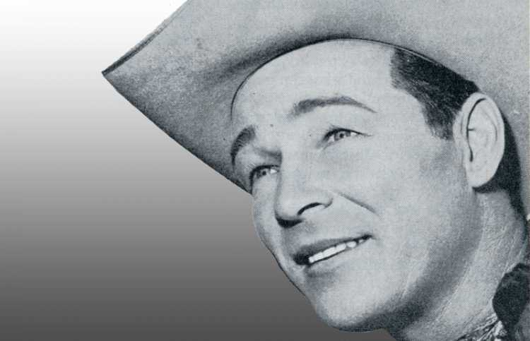 Singer and actor Roy Rogers