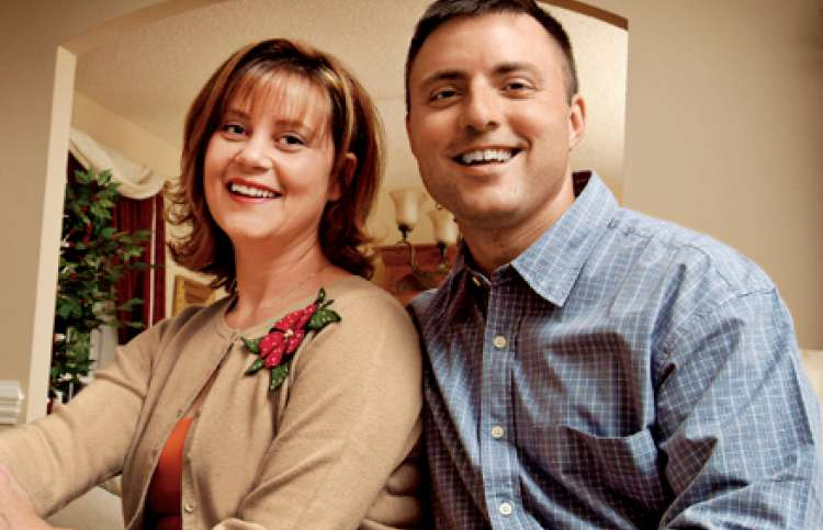 Michelle Stewart and her husband, Michael