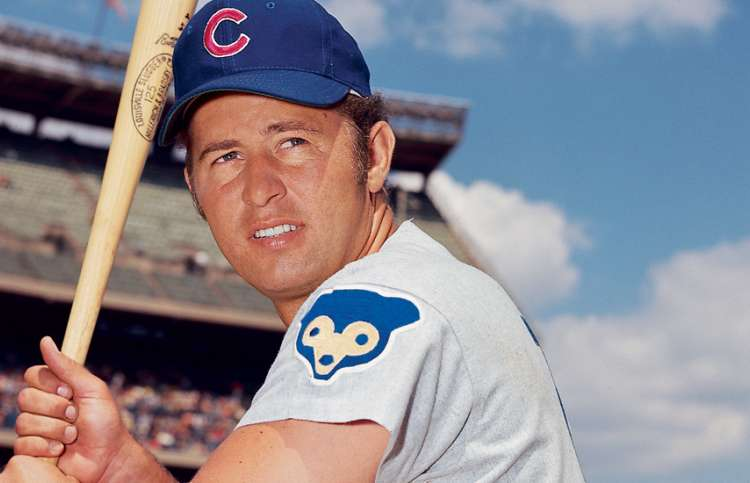 Ron Santo, during his playing days with the Cubs