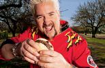 Guy Fieri and his Killer Inside-Out Burger recipe