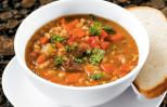 Soup recipes: Veggie Beef and Barley Soup