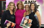 Amy Grant on the Today Show with Kathie Lee Gifford, Hoda Kotb and Rita Wilson.
