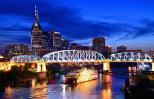 Nashville skyline at night.