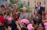 Maggie Smith, Judi Dench, Bill Nighy in The Second Best Exotic Marigold Hotel