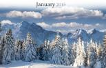 Calendar page of January 2015