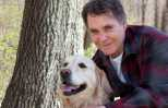 Guideposts Editor-in-Chief Edward Grinnan and his dog Millie