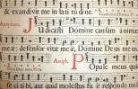 Manuscript of Gregorian chant notation. Everystockphoto.com.