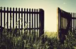 An open gate shows the way. Photo by Racide, Thinkstock.