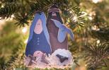 Mary and Joseph ornament. Photo by Judy Royal Glenn.
