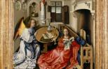 The Annunciation by Robert Campin. Photo credit: The Metropolitan Museum of Art
