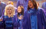 Dolly Parton and Queen Latifah in a scene from Joyful Noise