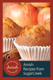 A sample of Amish Recipes from the Sugarcreek Mysteries Series