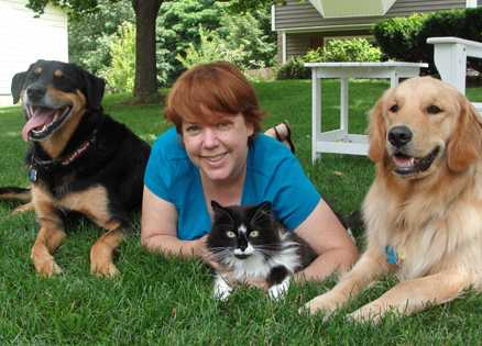 Peggy Frezon shares tips on pet food drives