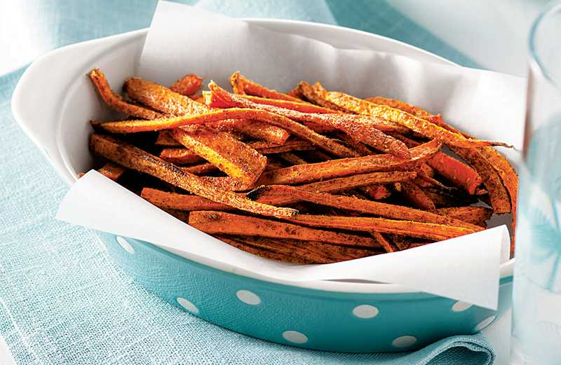 Spiced Carrot Fries