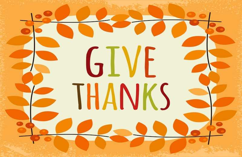 A Reason to Give Thanks