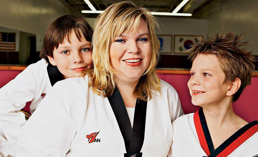 Tae Kwon Do Mom