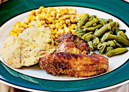 """Mom's Oven """"Fried"""" Chicken"""