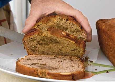 Marilyn Turk's banana bread inspired a sense of compromise with her husband.