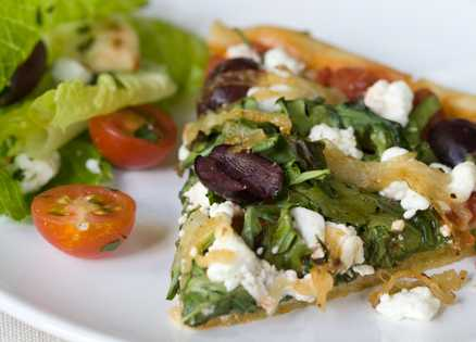 Lunch recipes: Healthy pizza