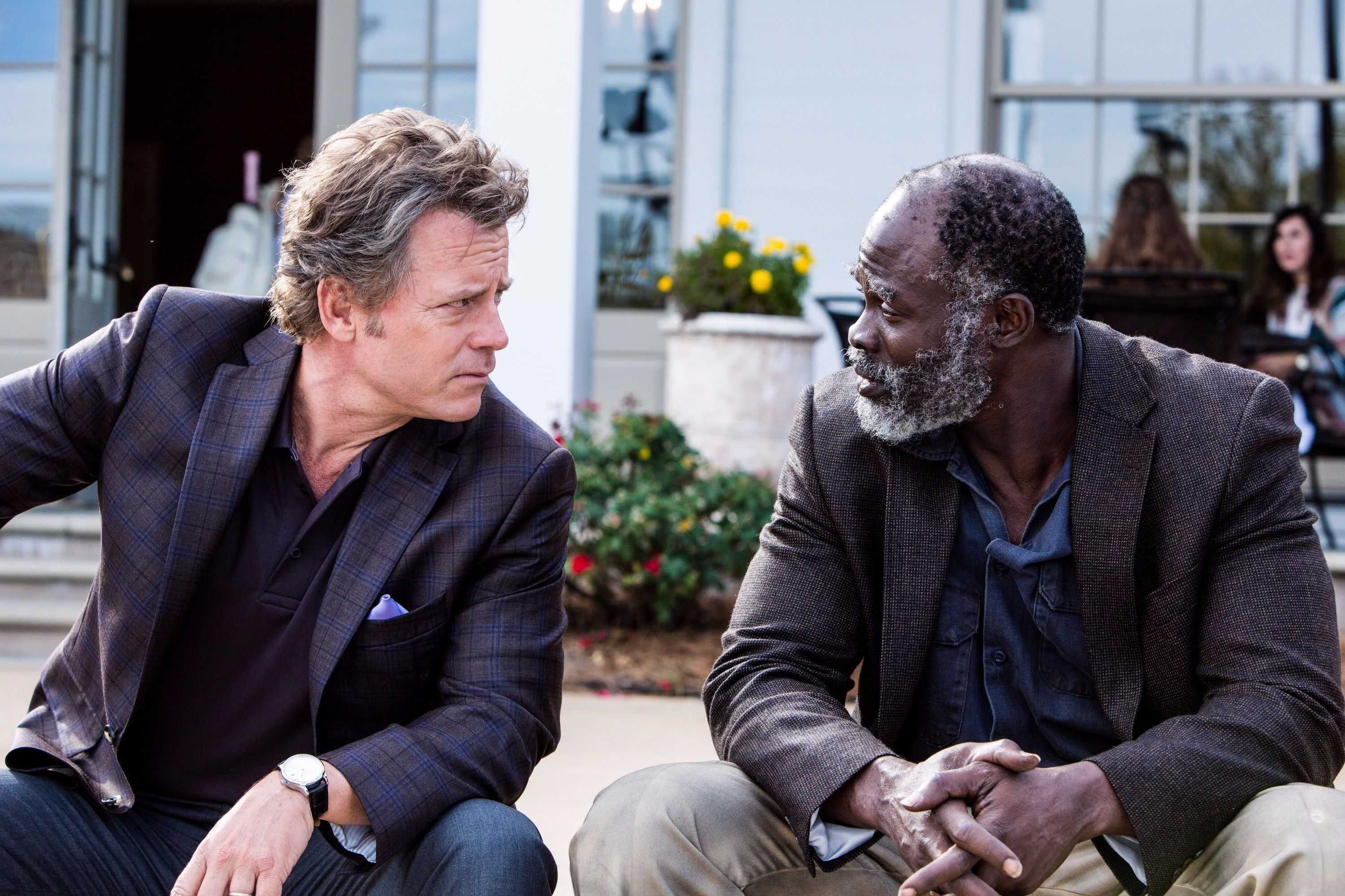 "Greg Kinnear and Djimon Hounsou in ""Same Kind of Different as Me"""