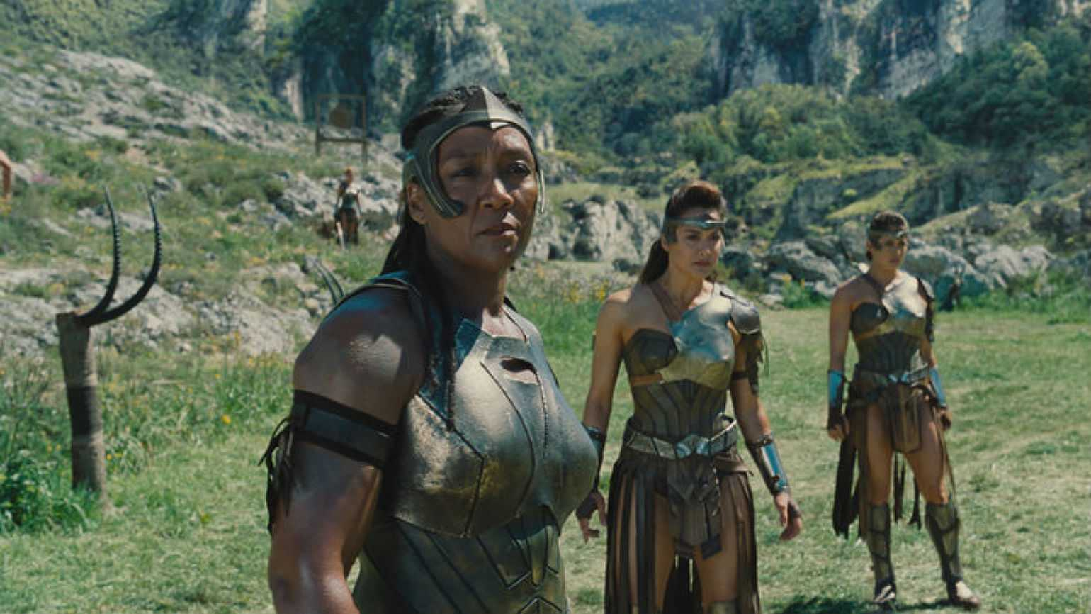 Amazons in Wonder Woman