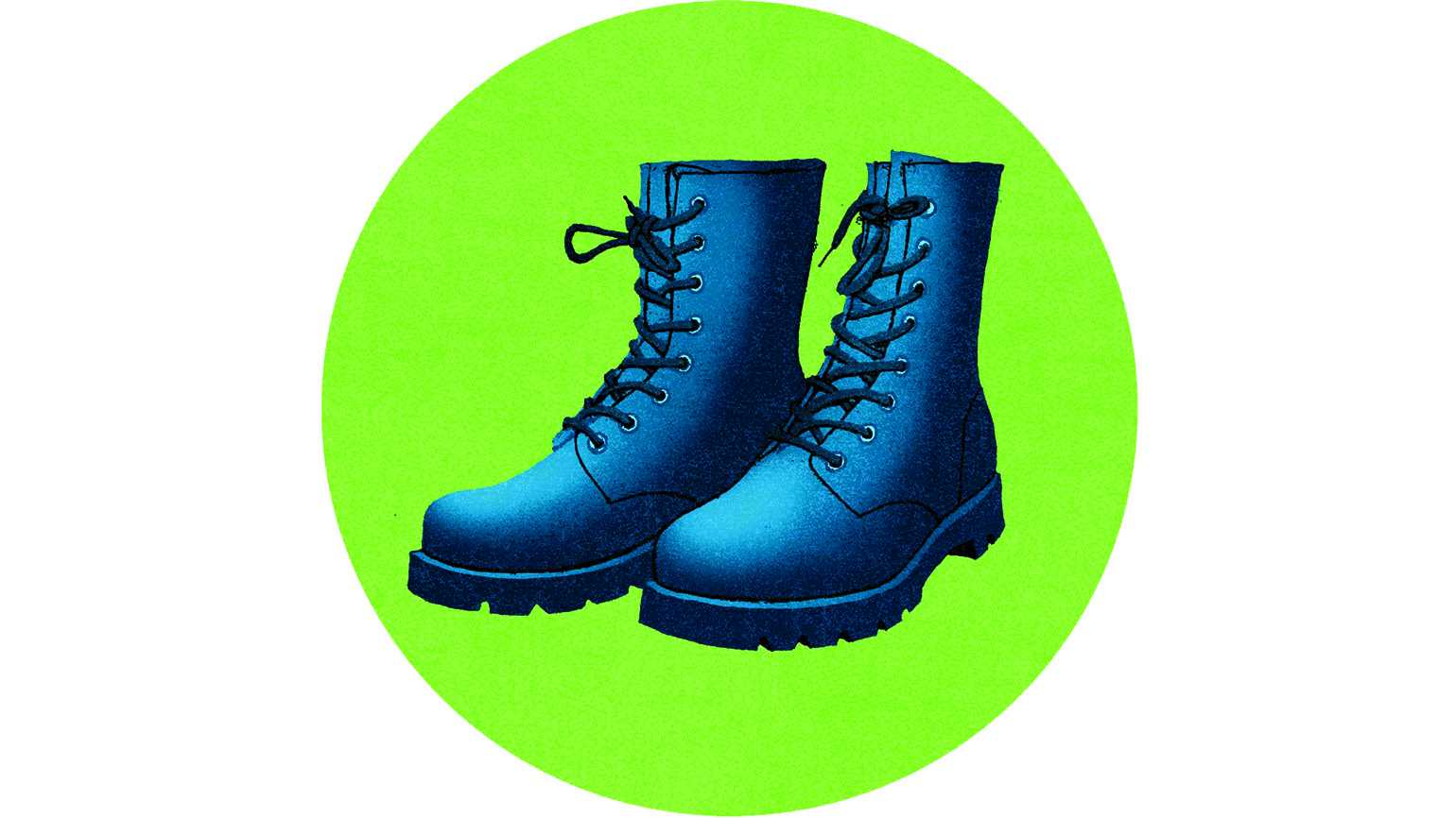 Illustration of a pair of boots
