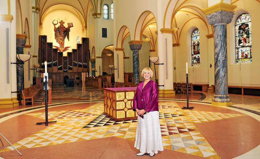 Mary Lou Carney at Stain Meinrad Archabbey
