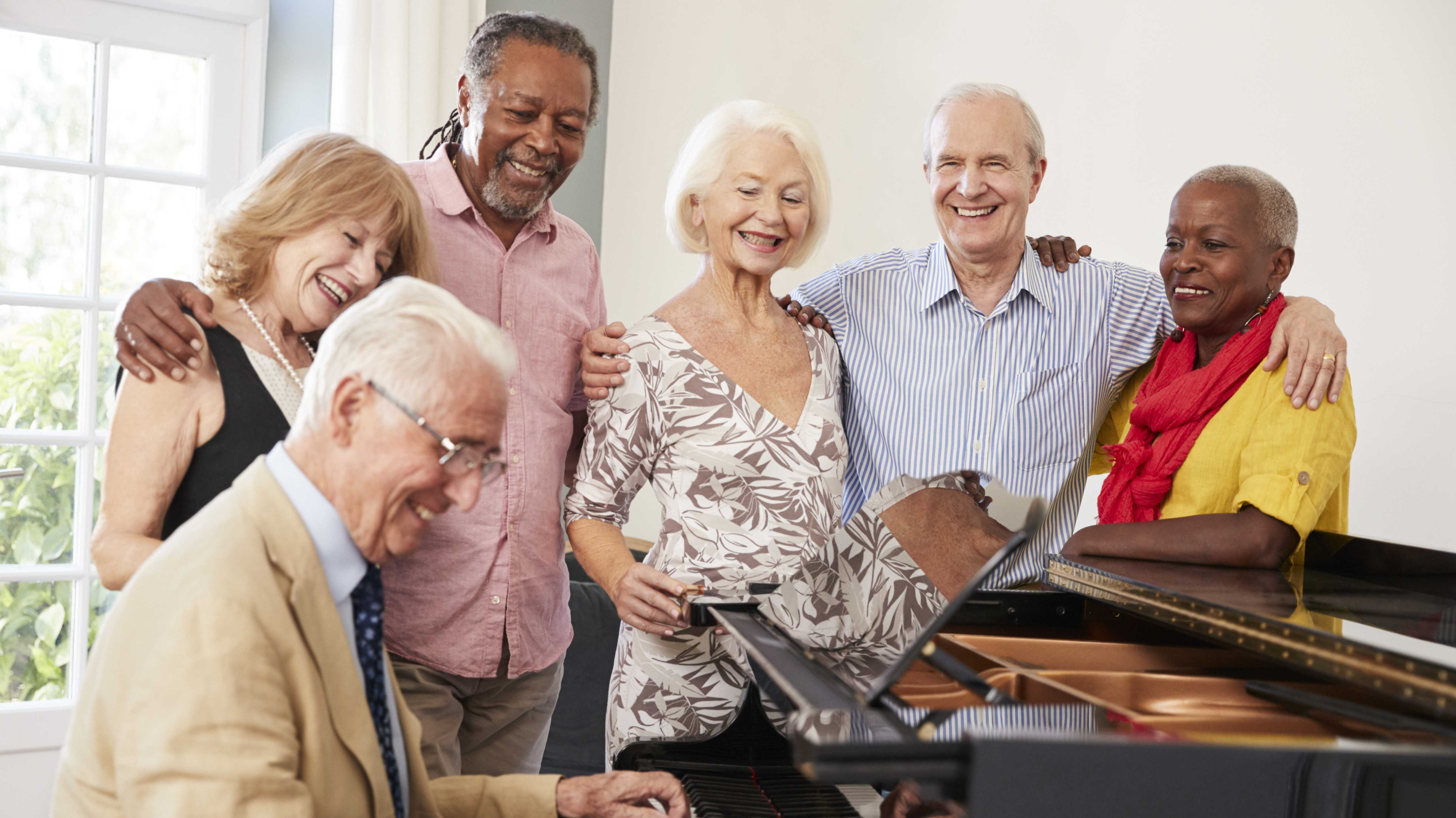 Choir Brings Caregivers and Dementia Patients Together