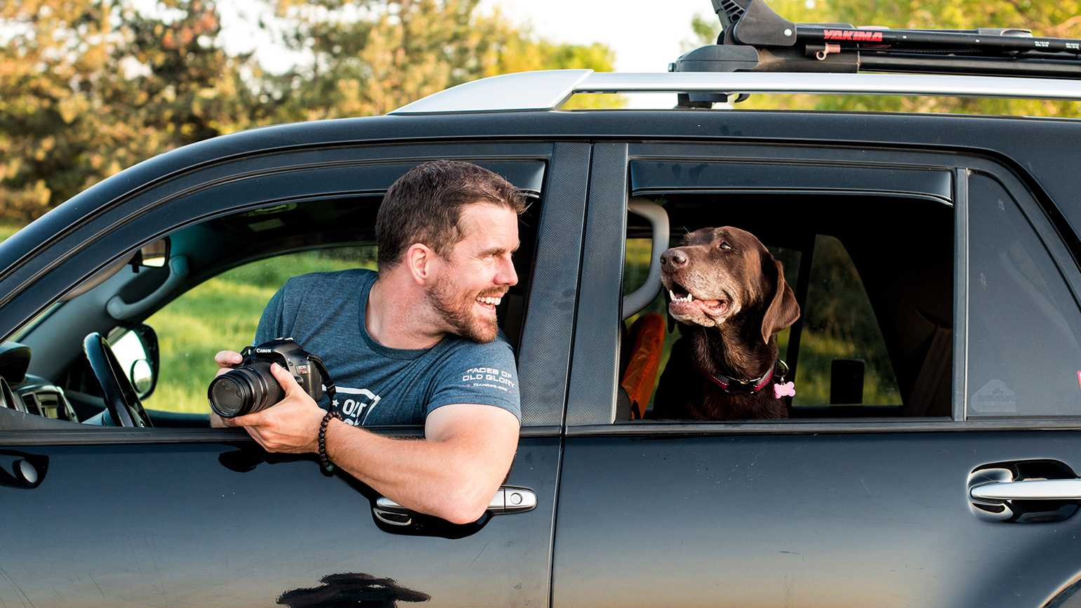 Why a Veteran and His Remarkable Dog Traveled Across the Country