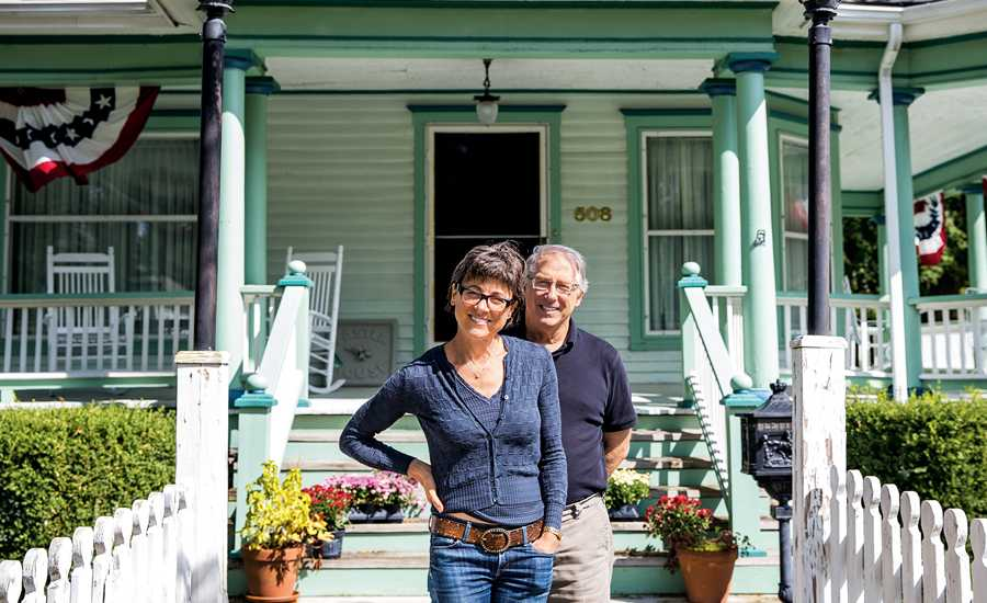 Guideposts: Amy and Mark at their new old house