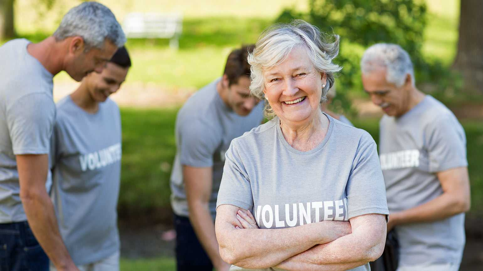 Senior Citizens Volunteering