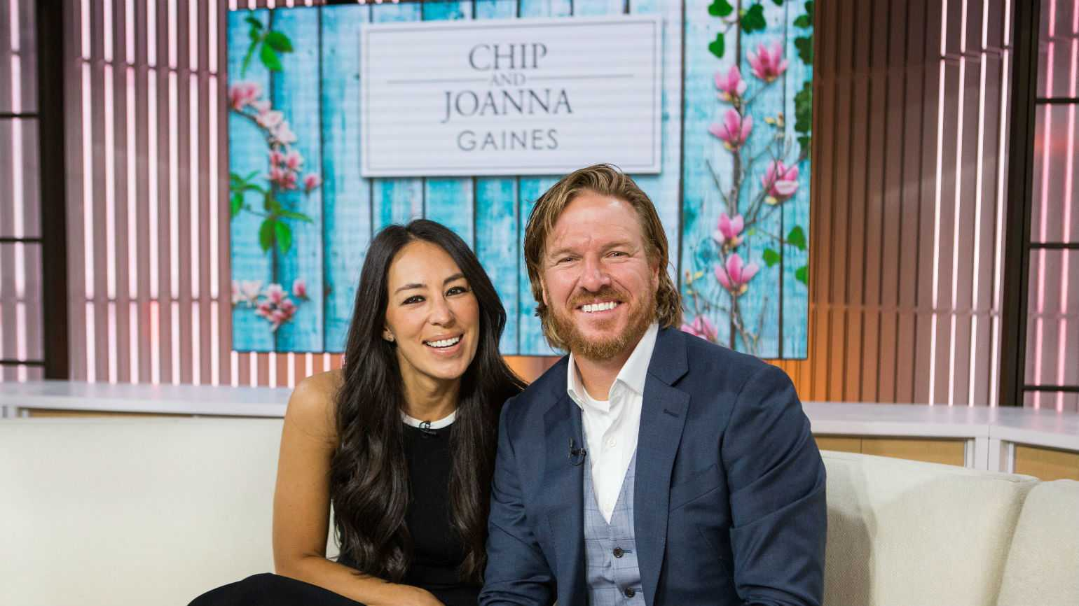 Chip Gaines and his wife, Joanna.