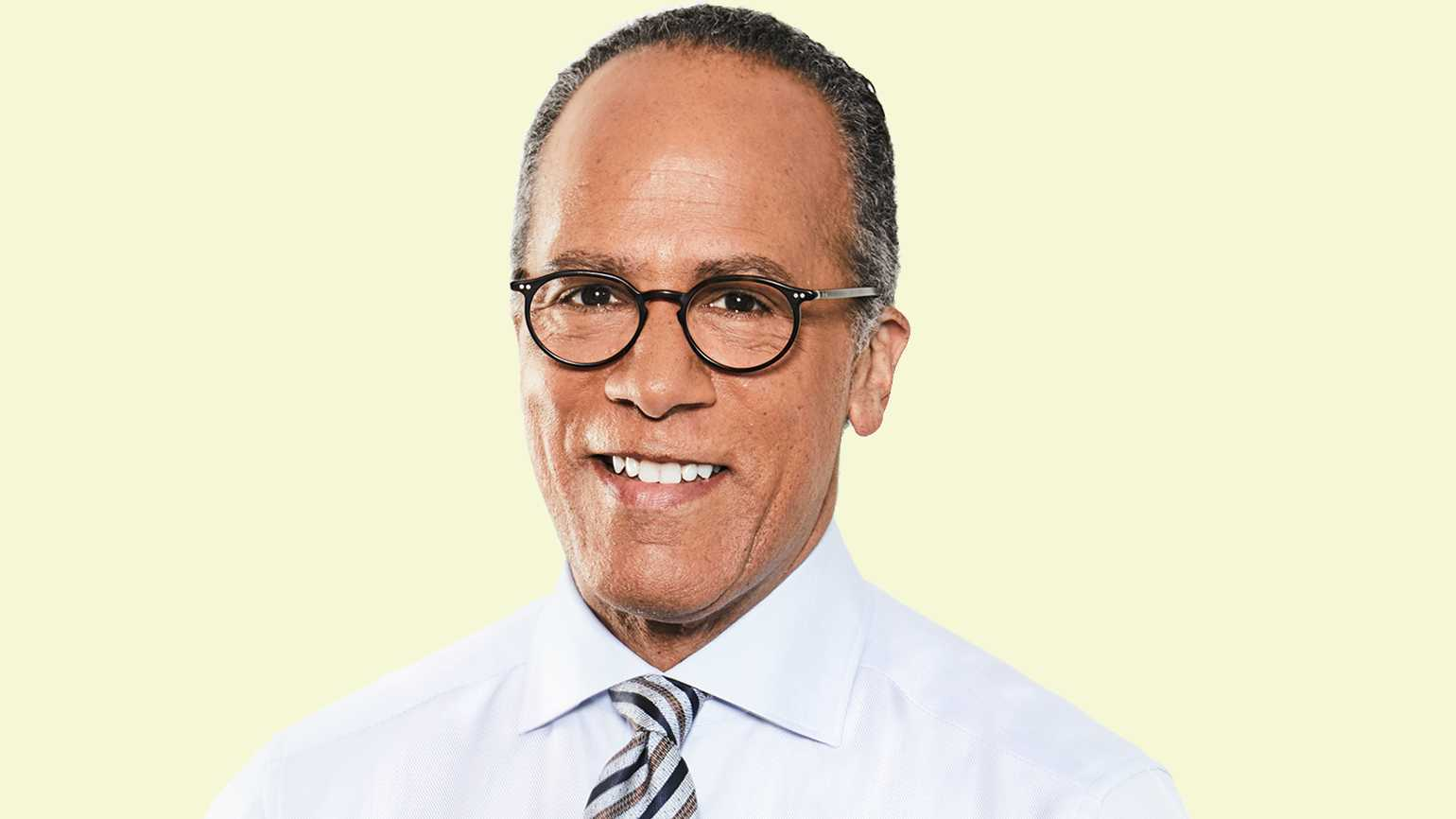 NBC News anchor Lester Holt
