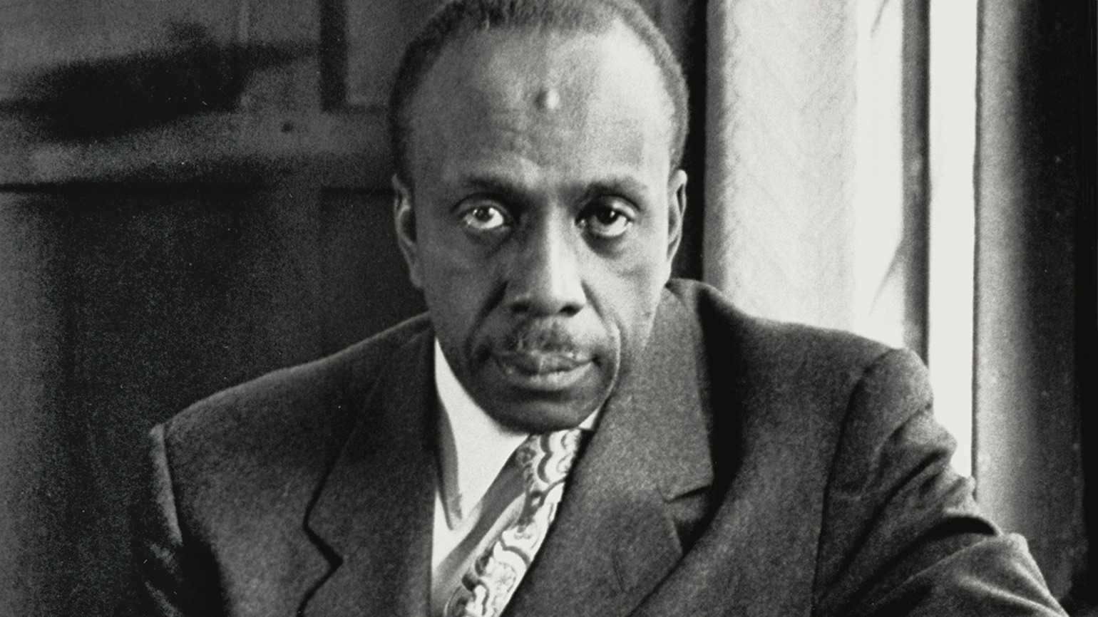 Author, pastor and civil rights leader Howard Thurman