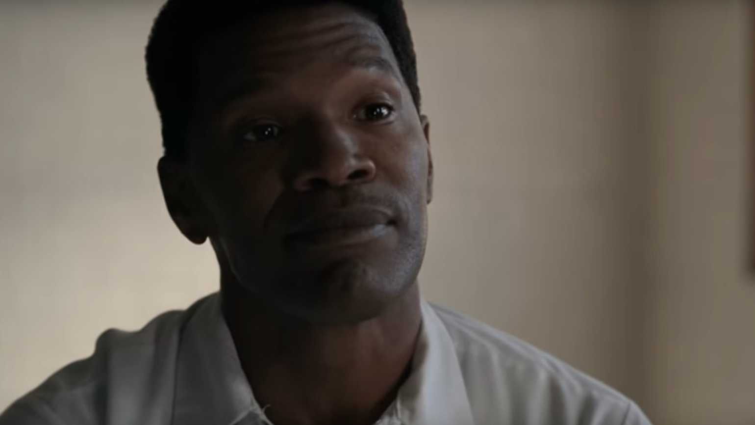 Jamie Foxx in Just Mercy