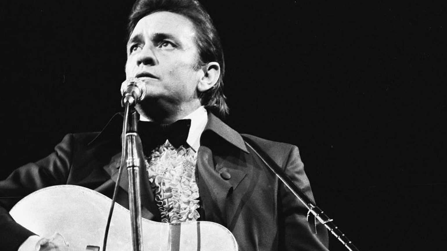 Country music legend Johnny Cash