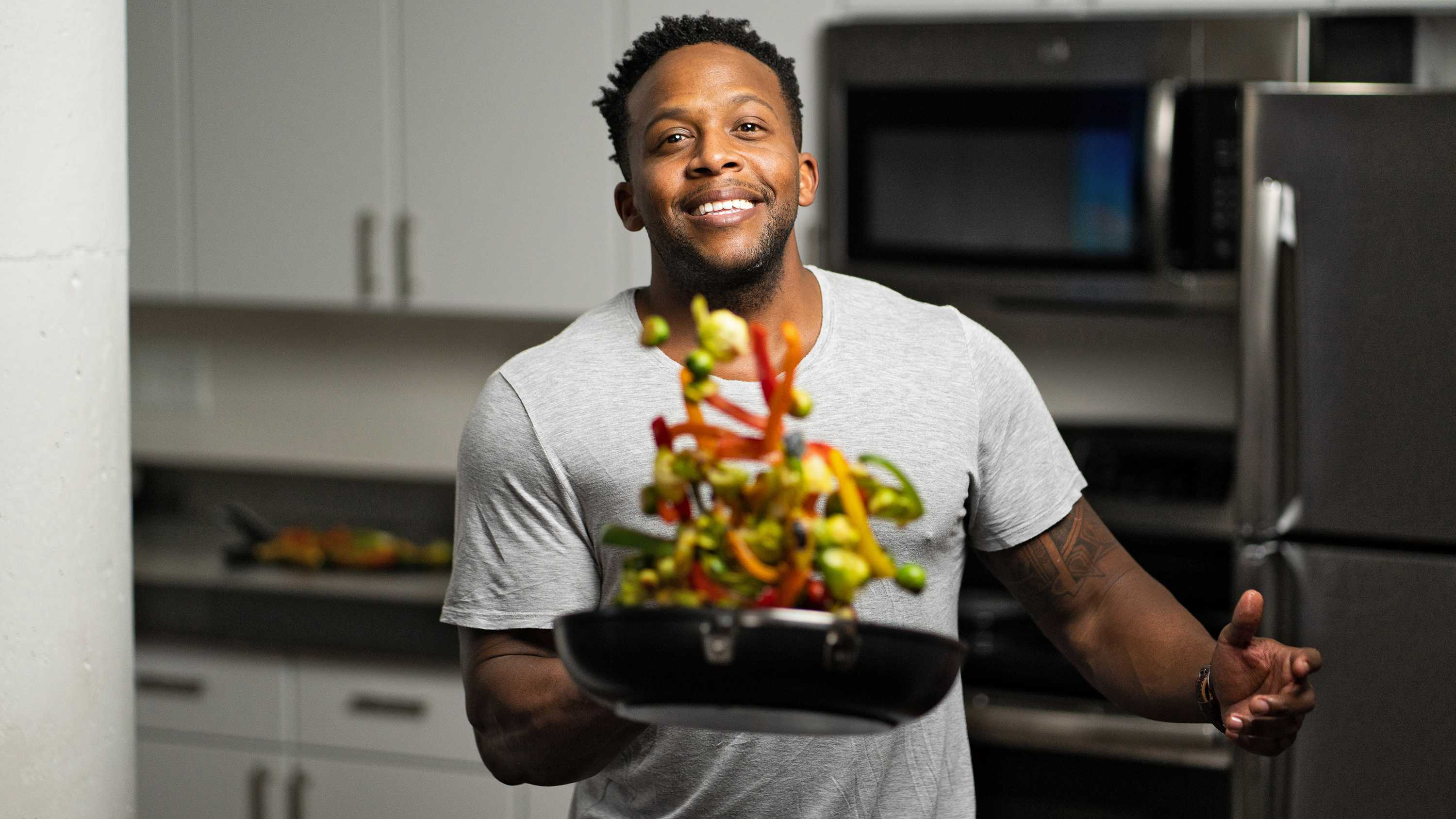 Chef and fitness expert Kevin Curry