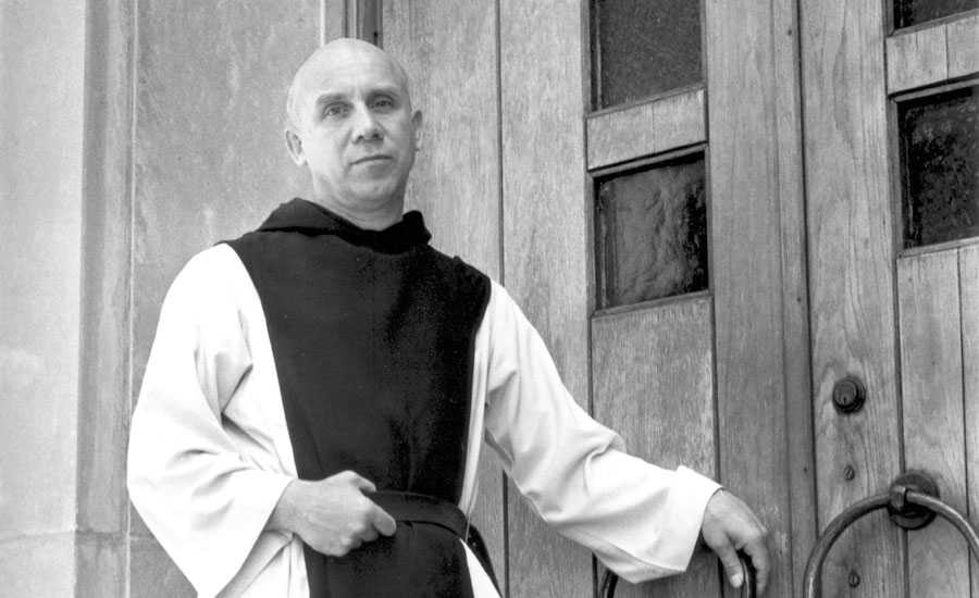 Author, mystic and Catholic monk Thomas Merton