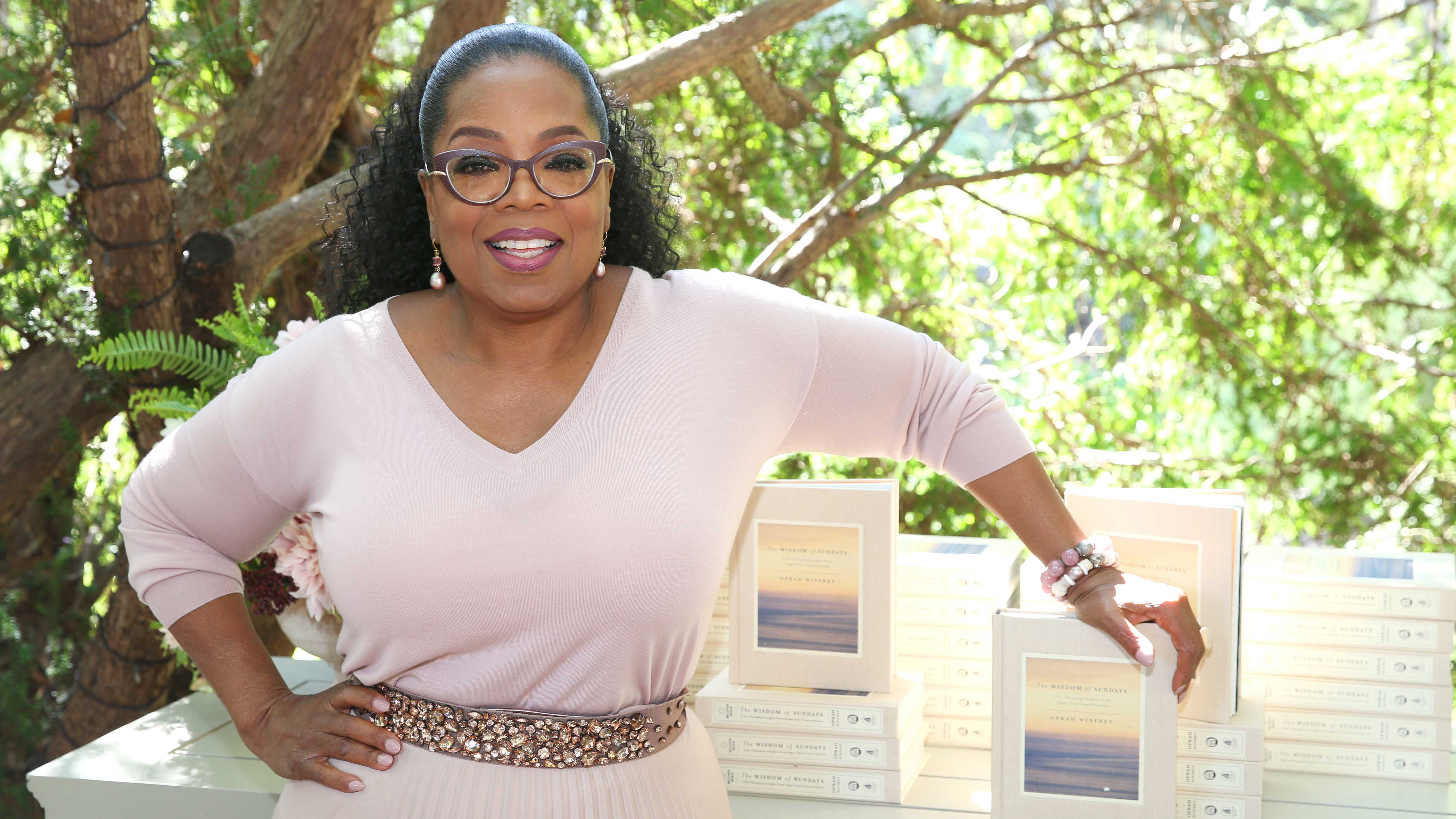 Oprah's New Book Shares 'The Wisdom of Sundays'