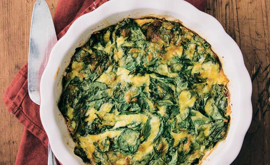 Angels on Earth: Crustless Spinach Quiche