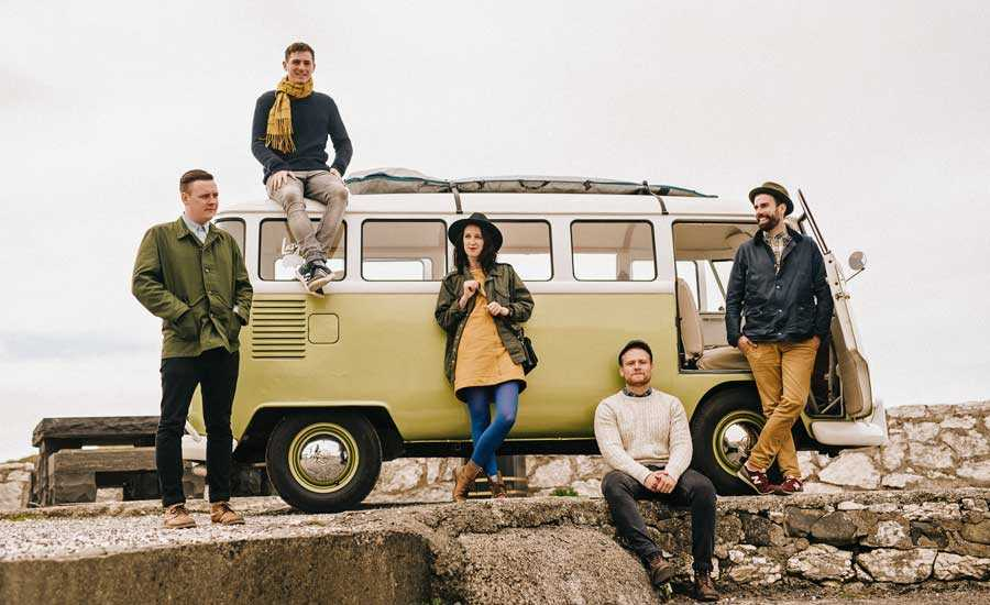Rend Collective, the Christian music group from Nothern Ireland, continues to push boundaries on their latest album As A Family We Go.