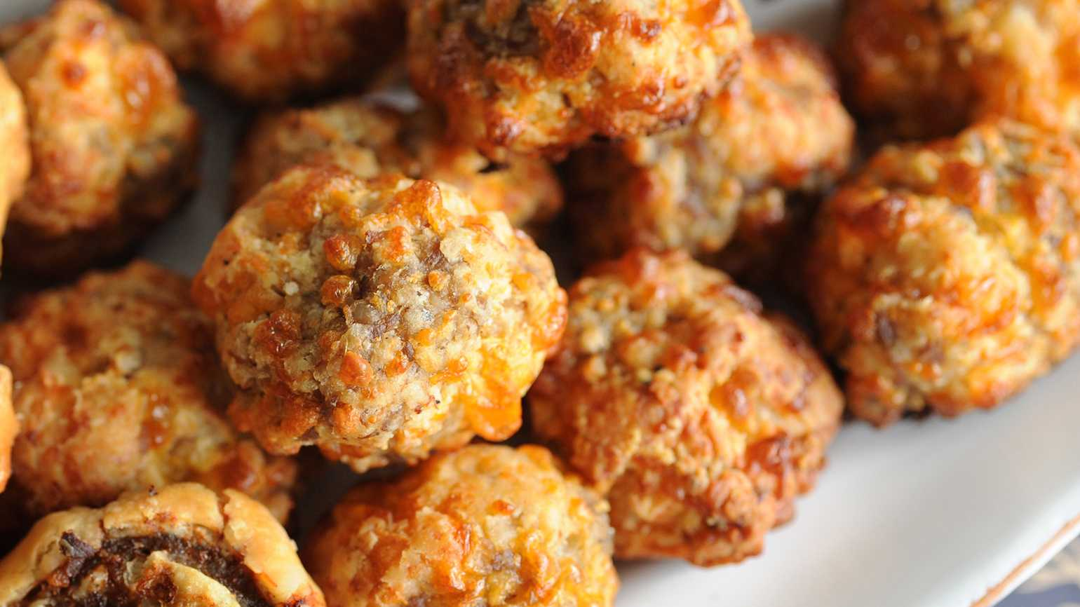 Katie Jacobs' Sausage Cheese Balls