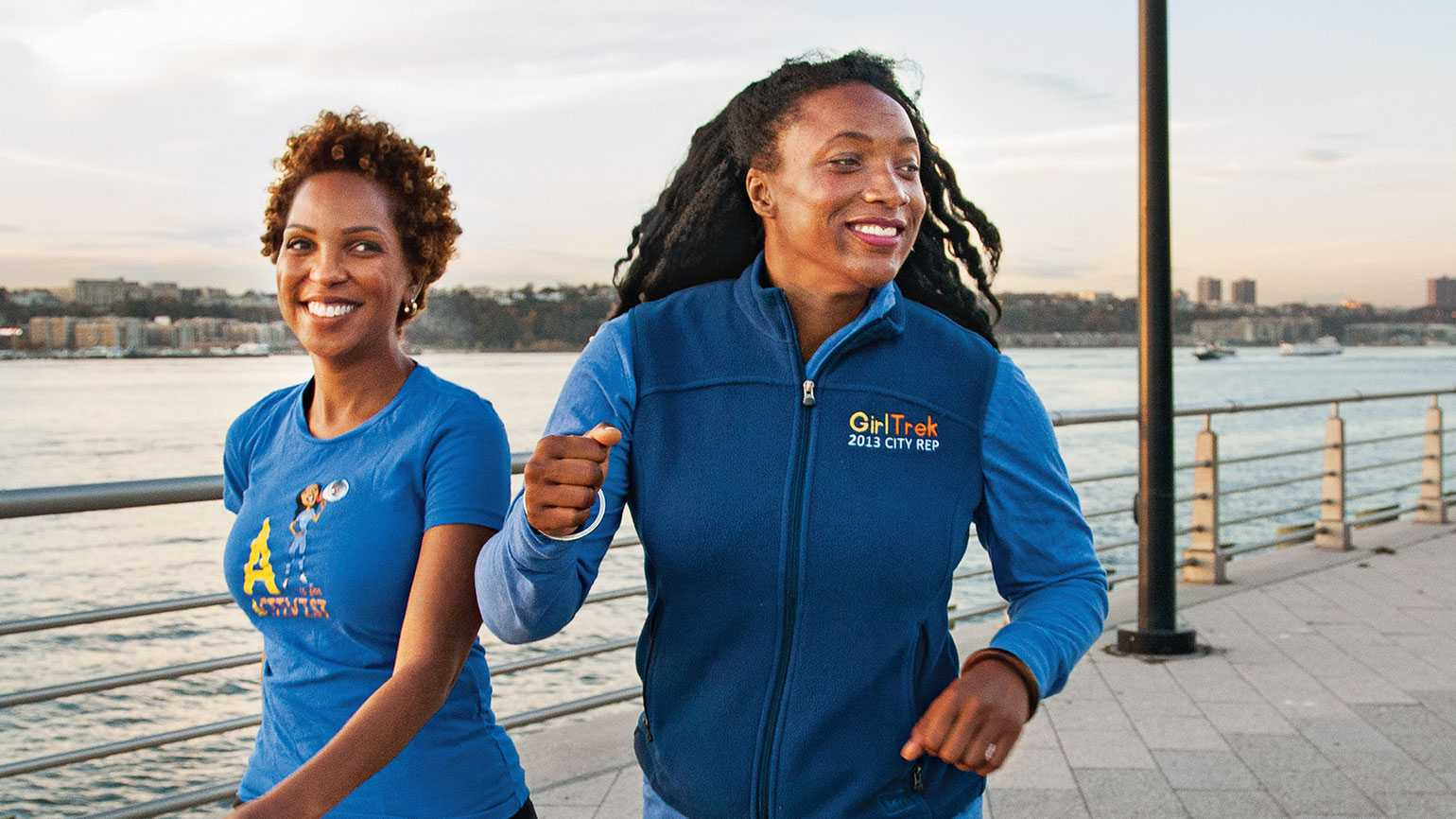 T. Morgan Dixon (right) and Vanessa Garrison, founders of GirlTrek