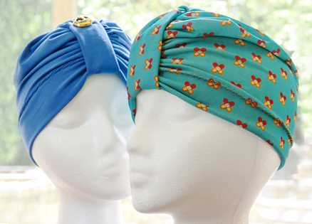 How to Make a Turban for a Chemo Patient