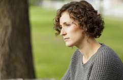 Woman reflecting. (Thinkstock)