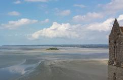 The view from Mont Saint-Michel