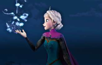 "Elsa from the movie ""Frozen"""