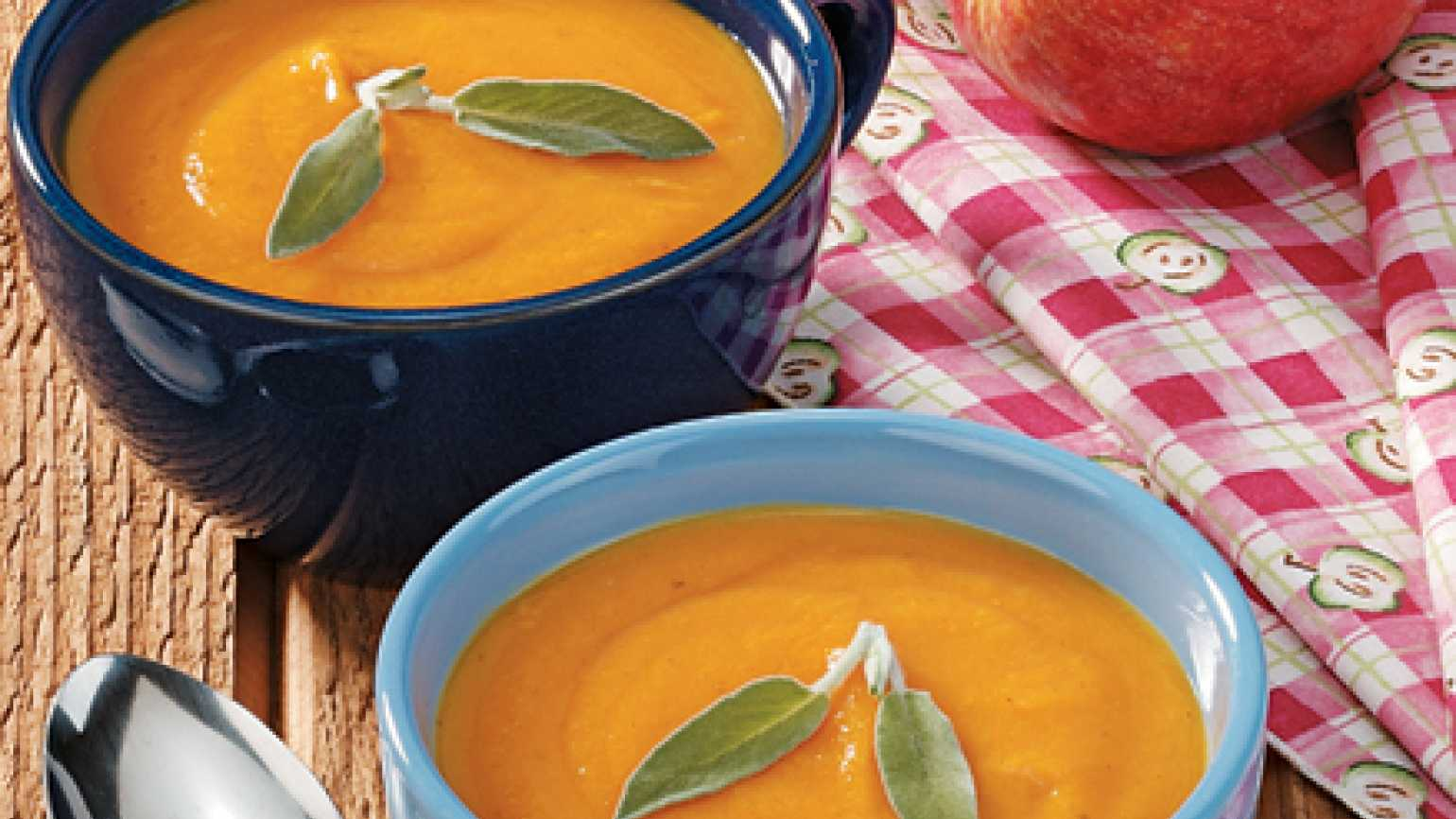 Soup recipes: Apple Squash Soup